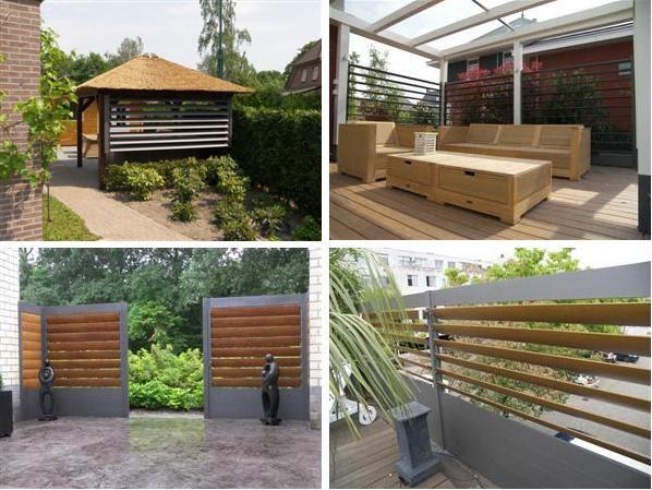 Wonderbaarlijk Vision on living: Onderhoudsvrije shutters in de tuin EG-01