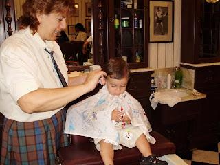1st hair cut at Disney World