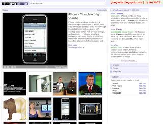 Searchmash上的视频搜索新体验