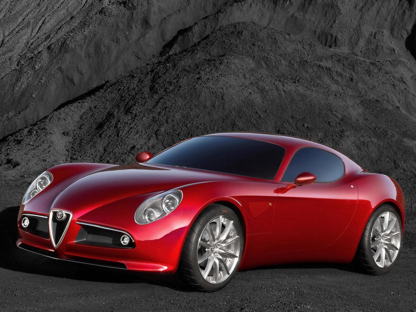 cars sport alfa romeo 8c. Black Bedroom Furniture Sets. Home Design Ideas