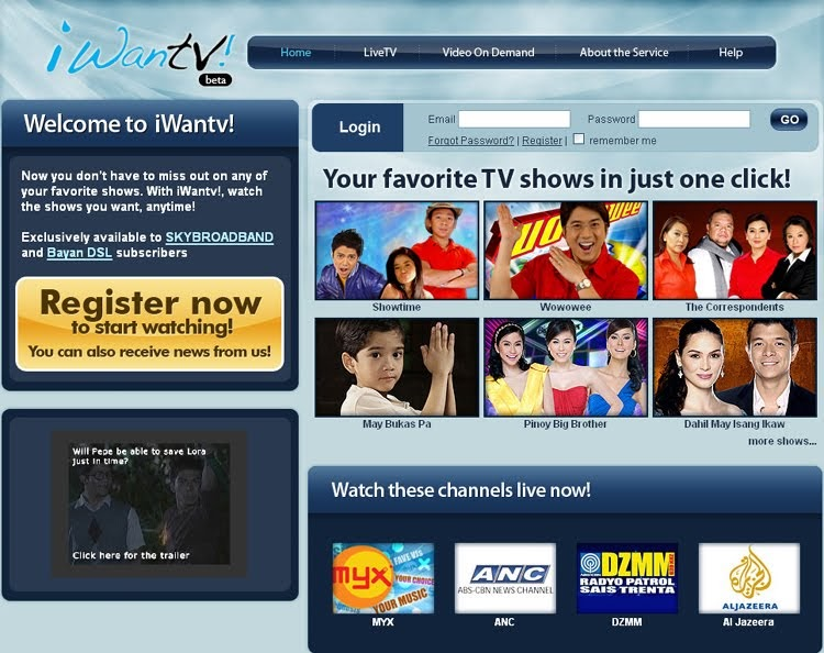 how to watch in iwantv for free