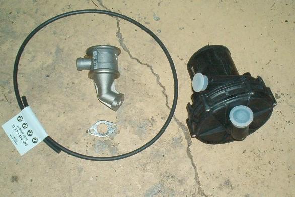 E39 Secondary Air Pump replacement ~ Deutsh Power