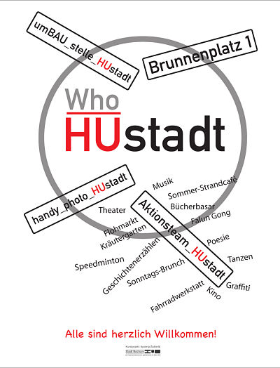 HUstadt participation: Aktionsteam