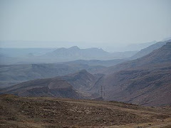 O Deserto de Paran, local onde o povo viveu 40 anos.
