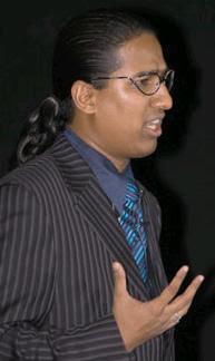 IIPM Dean, Professor Arindam Chaudhuri