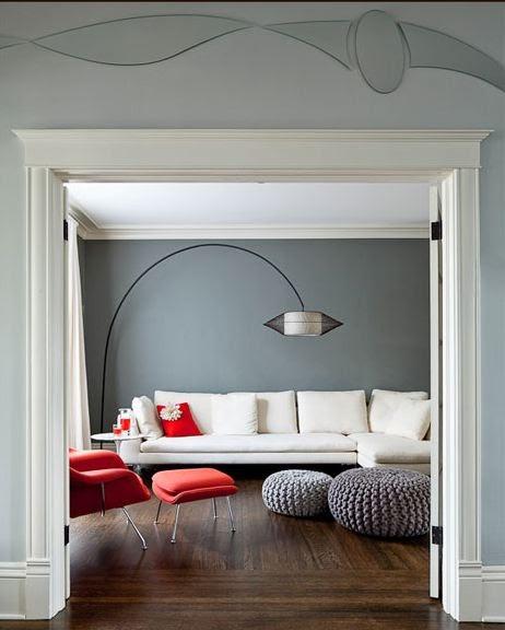 Tutto Interiors A Michigan Interior Design Firm Receives: RICEVERE: Vorrei...Una Parete Grigia