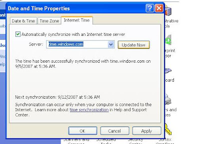 Networking is Easy: NTP client setting in Windows 2000 and Windows