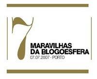 2007-7 maravilhas da blogosfera 2007