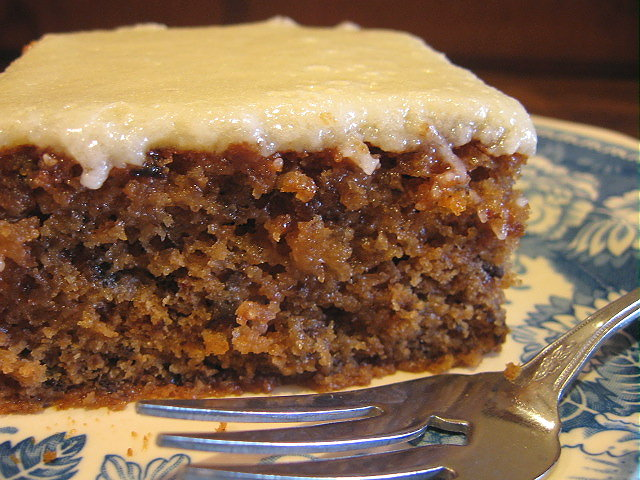 My Five Men Prune Cake With Glazed Topping