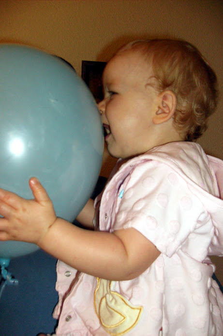 My first introduction to balloons