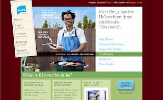 www.blurb.com screenshot