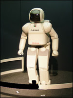 Honda Asimo - a Humanoid Robot with artificial intelligence
