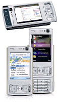 The Nokia N95 multimedia computer with GPS, 5mp camera, HSDPA, WLAN (WiFi), EDGE, WCDMA, S60, Symbian OS
