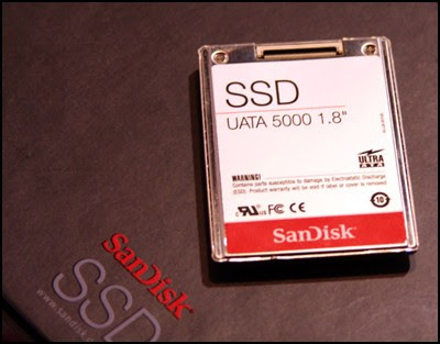 SanDisk 32GB Solid-State Drive (SSD) for notebooks