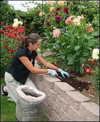 Gardening benefits health and bones. It prevents osteoporosis.