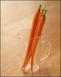 Cooked carrots are healthy and release antioxidants called phenolics which prevent cancer