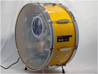 Spotswood Custom Computers' Drum PC Case