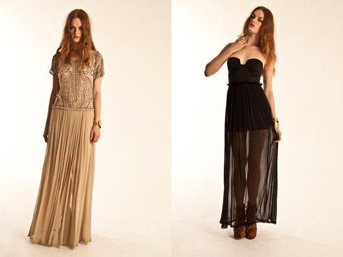 In Love With: Transparency + Maxi Length | Shakuhachi Prefall