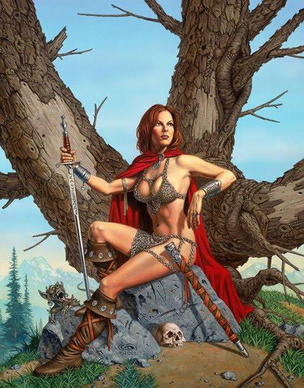 Clyde Caldwell – Fantasy Art