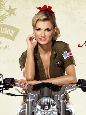 Marisa Miller and Harley Davidson – Pin Up Style Ads – Pin ...