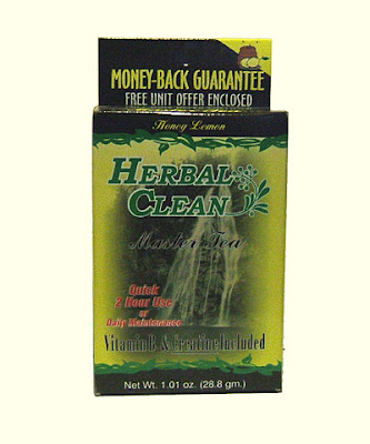 Herbal Clean Master Tea Honey-Lemon Flavor for Pass Urin Drug Test