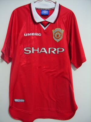 1997 1999 European Champions League Jersey ONE STAR