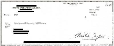 My Stimulus Check