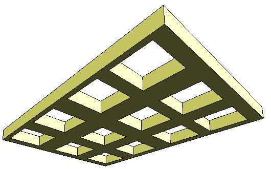 Revit Rocks Cadclip Waffled Or Coffered Ceiling Tutorial