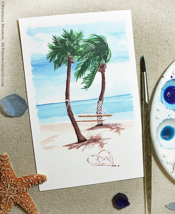 Key West Wedding Ideas: My Personal Artist Custom Invitations Studio Blog: Wet
