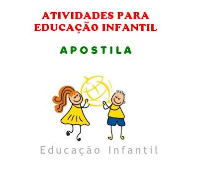 Educação Infantil Apostila Com Atividades Diversificadas