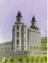 Manti Temple Painting