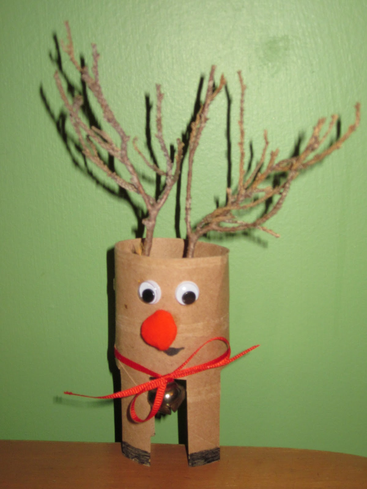 Reindeer Toilet Paper Craft