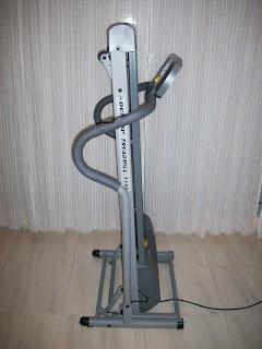 Cinta de correr Dunlop Treadmill 1150 plegada