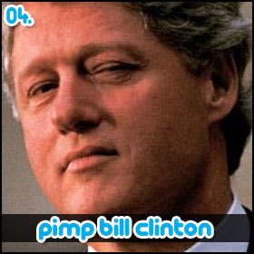 Pimp Bill Clinton on Twitter
