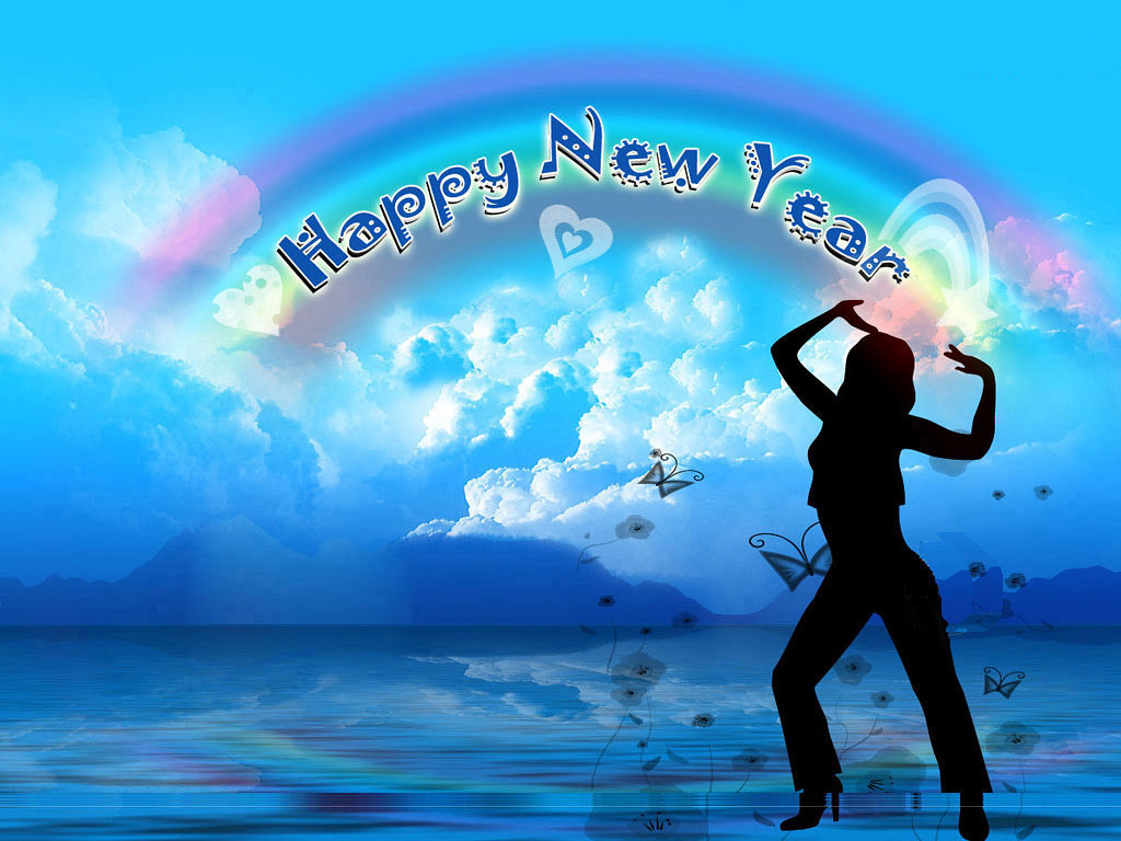 mobile animated new year screensavers