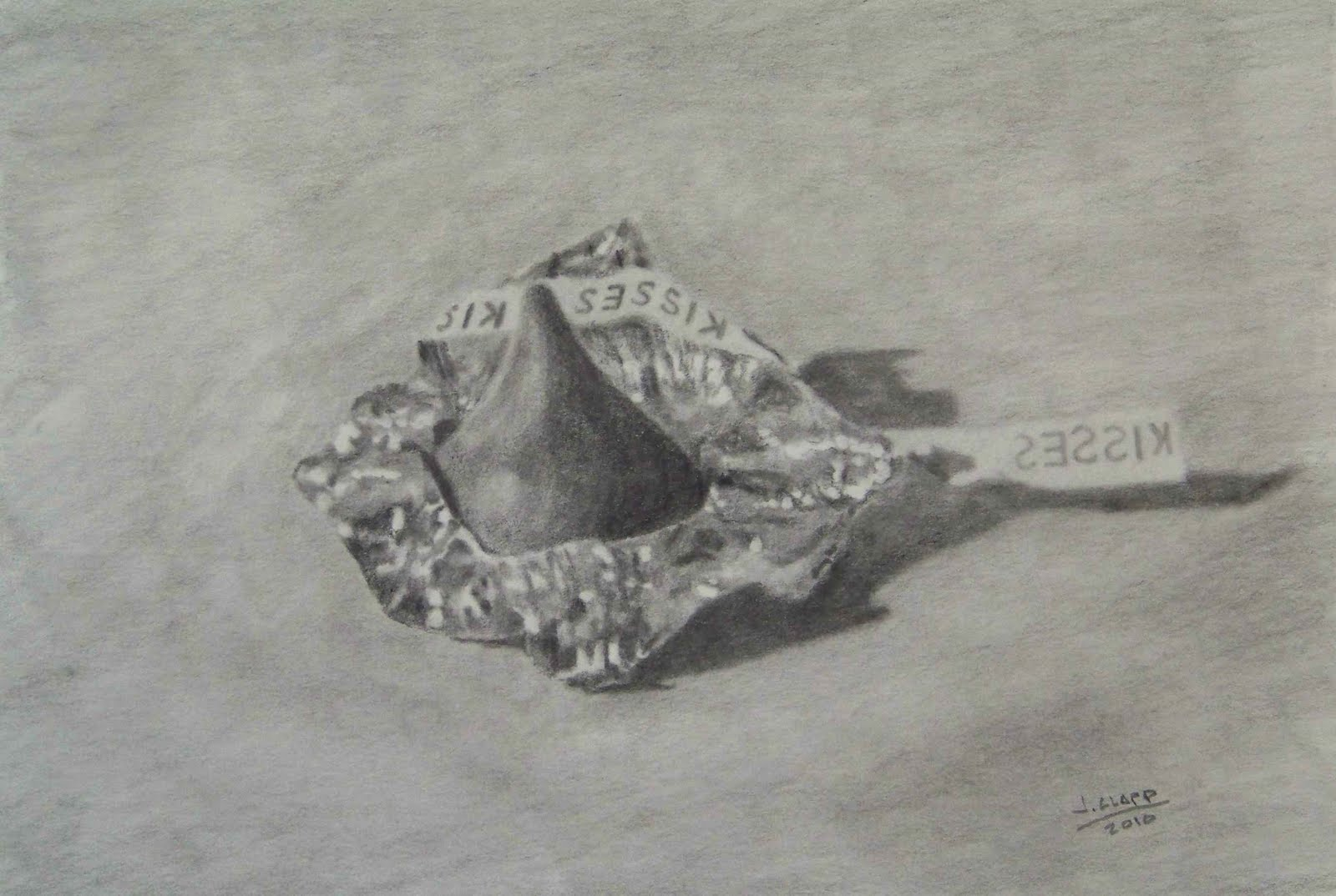 It's just a picture of Fabulous Hershey Kiss Drawing