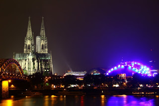 Image of Cologne Cathedral from the east side of the Rhine (courtesy of iStock Photography)
