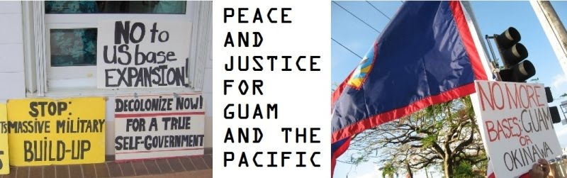 Peace and Justice for Guam and the Pacific