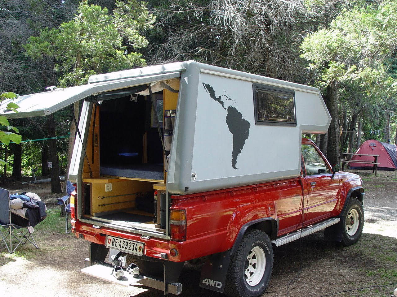 FOR SALE Toyota Hilux Camper in South America: FOR SALE ...