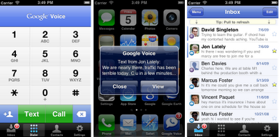 Google Voice finally comes into iPhone officially