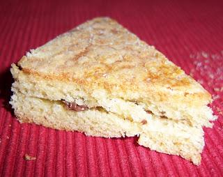 recettes dessert  Brioche plate au sucre comme un sablé