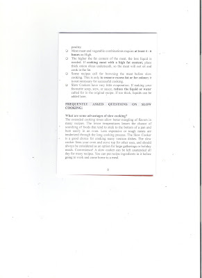 Healthy Living 123: Page 8 of the Instruction Manual of
