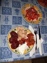 Cena mari e monti