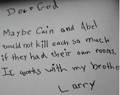 Ben Witherington More Children s Letters to God