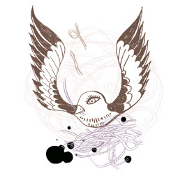 susanne+thurn Projeto reune ilustrações de pequenos pássaros