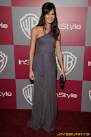Odette Yustman at InStyle awards