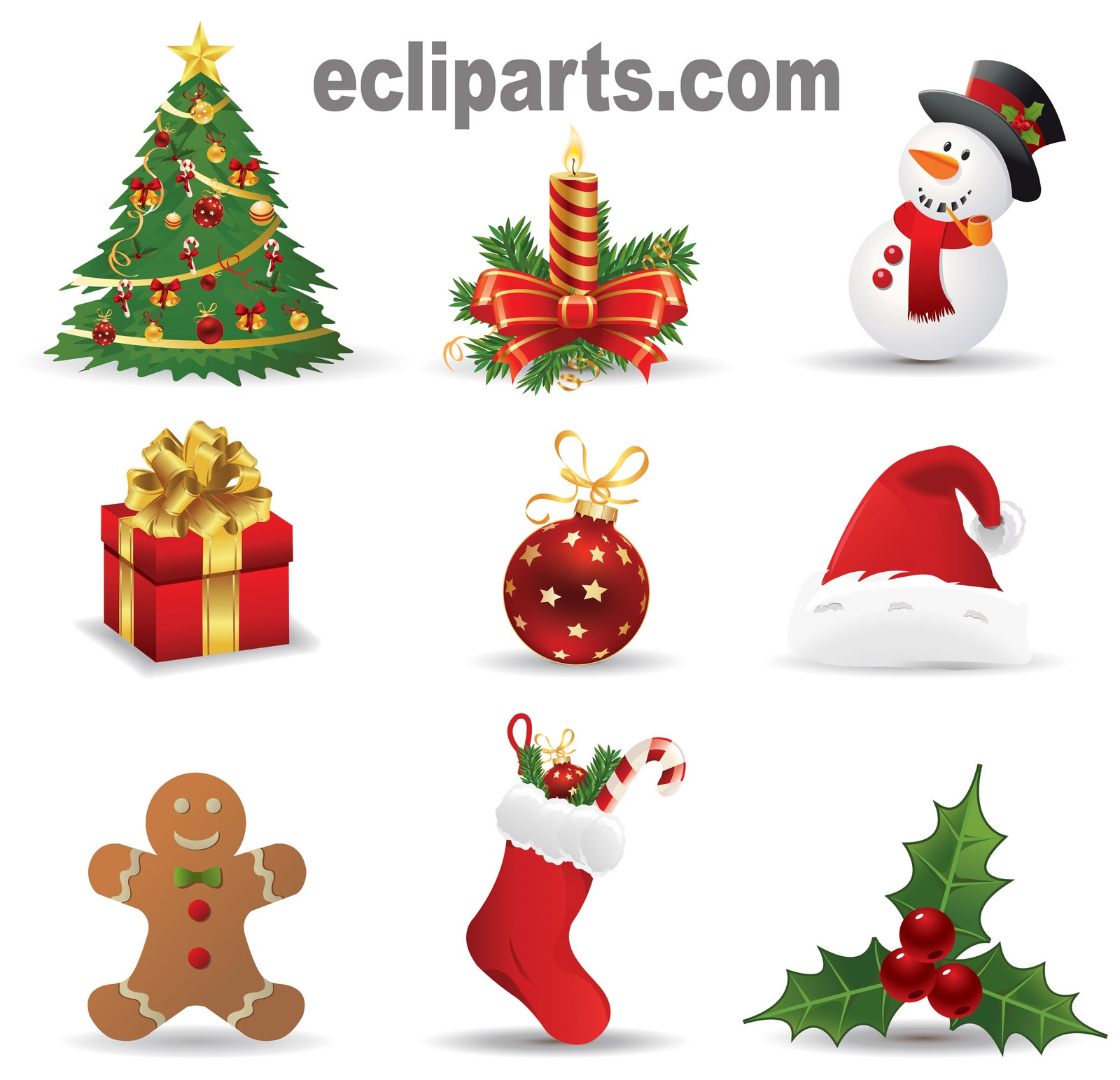 free clipart of christmas - photo #11