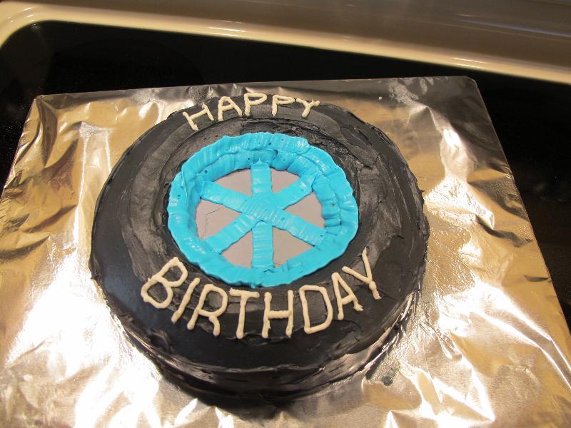 B2ben S Blog Wheel Cake