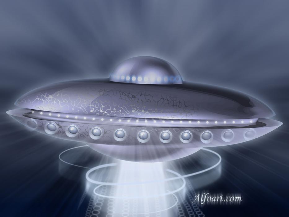alien flying saucer - photo #29