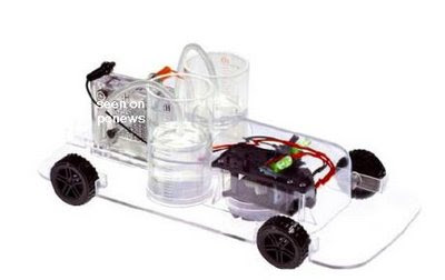 World Is Amazing: DIY Fuel Cell Car and Experiment Kit